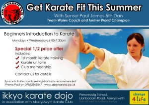 Ikkyo Dojo A5 Flyer - Summer 2015 dedacted